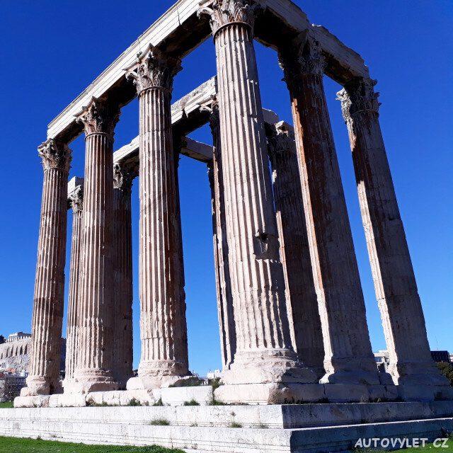 Chrám Dia Olymp Atény Řecko