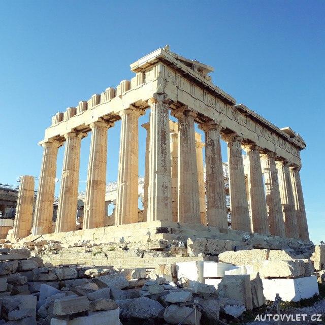 Chrám Pantheon Atény Řecko