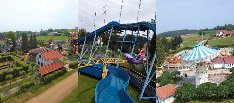 Churpfalzpark Loifling - zábavný park u města Cham v Německu