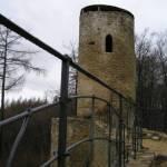 Cimburk hrad zřícenina koryč