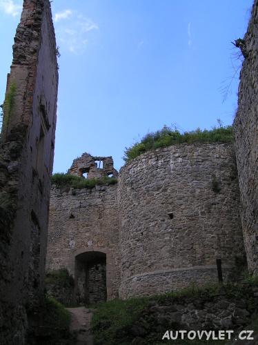 Cimburk hrad - zřícenina Koryčany 2