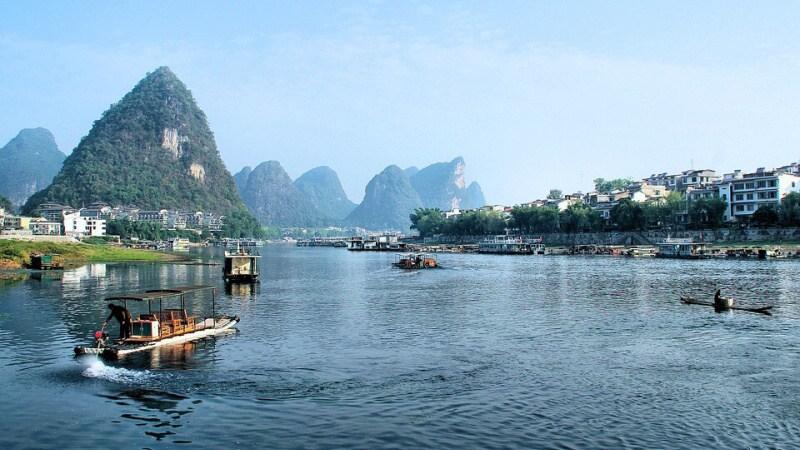 Čína řeka Li