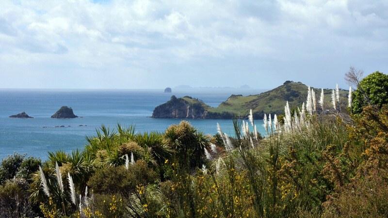 coromandel poloostrov nový zéland