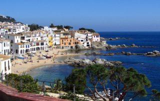 costa brava calella španělsko