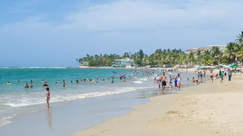 costa del sol pláž španělsko