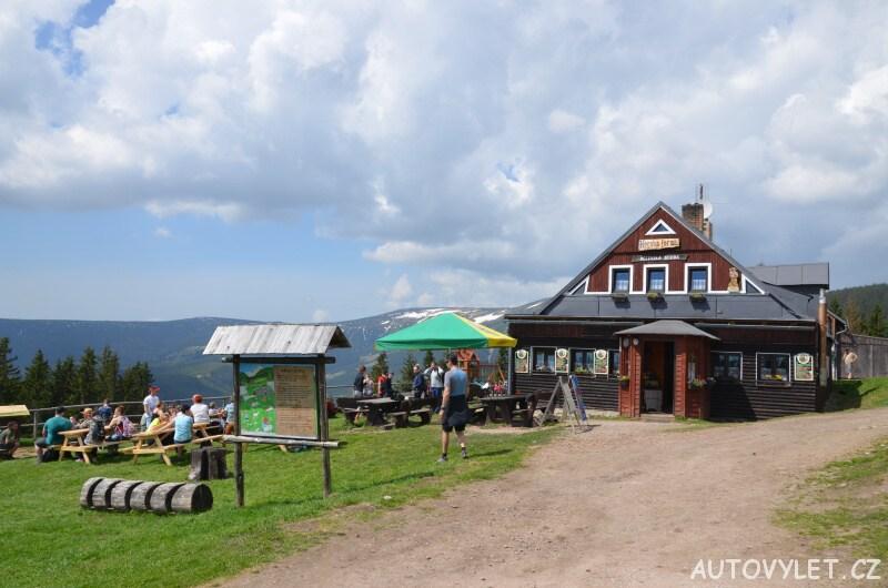 Děčínská bouda horská chata - restaurace