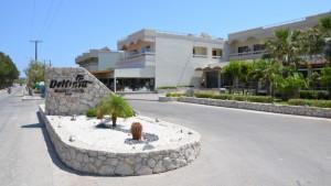 delphinia hotel rhodos řecko