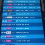 departures - odlety