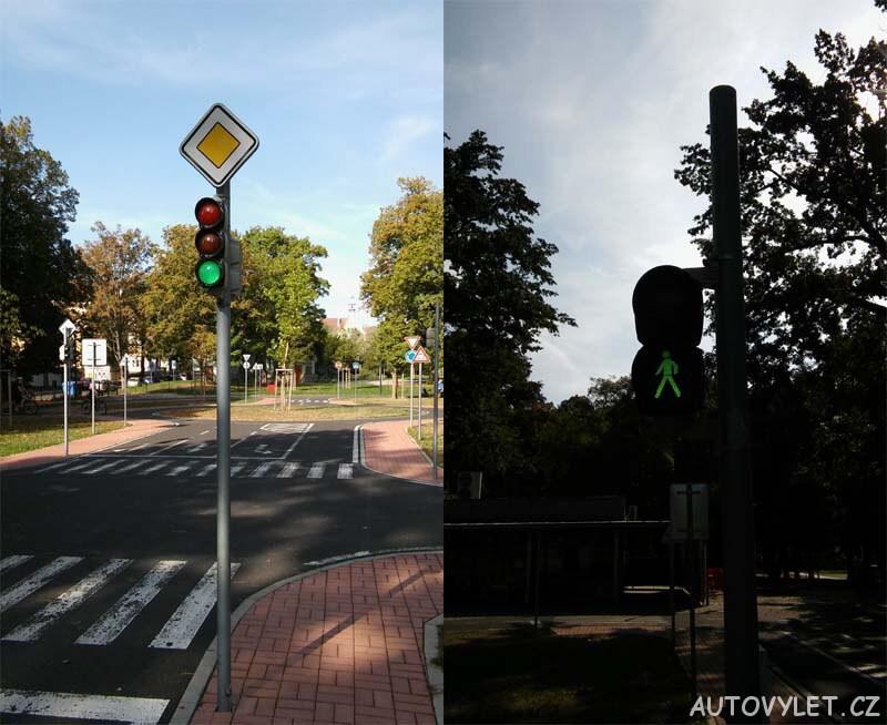 Dětské dopravní hřiště Litoměřice semafory