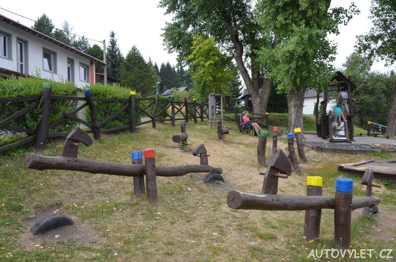 Dětské hřiště - Klíny - Krušné hory