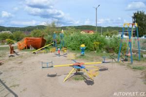 Dětské hřiště - Tyrkysové jezero Polsko