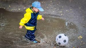 Kam s dětmi když prší