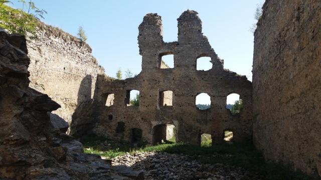 Dívčí kámen - zřícenina hradu 2