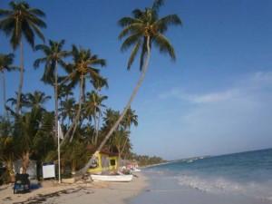 dominikánská republika pláž