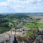 Skalní hrad Drábské světničky – krásná vyhlídka na Český ráj