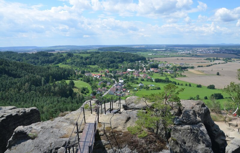 Drábské světničky skalní hrad - Mnichovo hradiště
