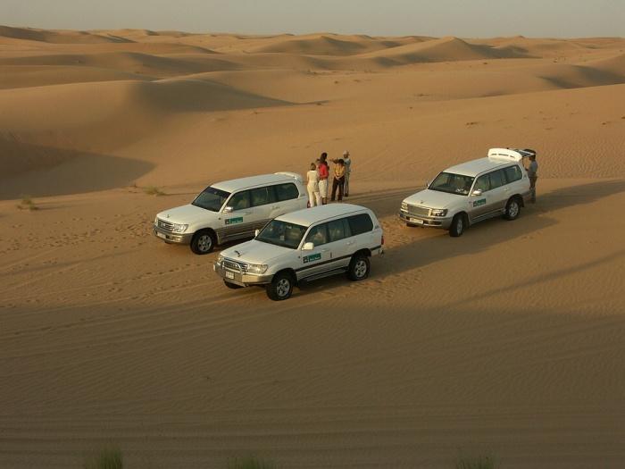 dubaj poušť
