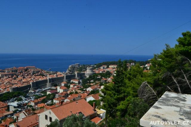 Dubrovnik Chorvatsko stopem