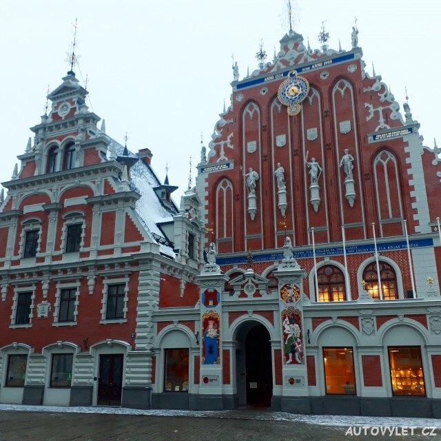 Dům Černohlavců - Riga Lotyšsko