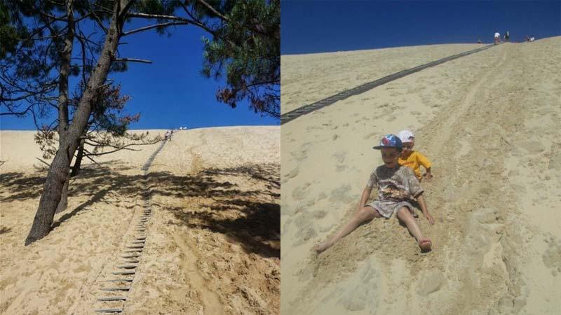 Dune de Pyla - nejvyšší písečná duna ve Francii