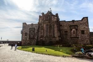 edinburg hrad skotsko
