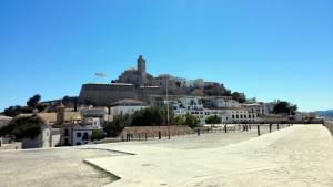 Pevnost ve městě Eivissa