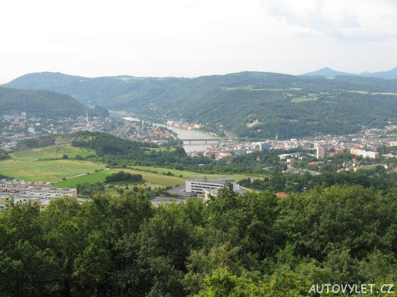 Erbenova vyhlídka - Ústí nad Labem