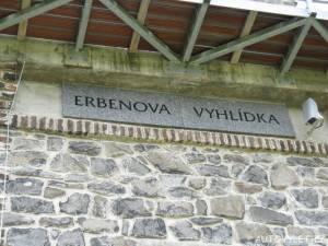 Erbenova vyhlídka Ústí nad Labem 4