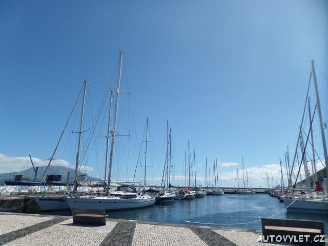 Faial Horta - jachty - Azorské ostrovy - Azory dovolená