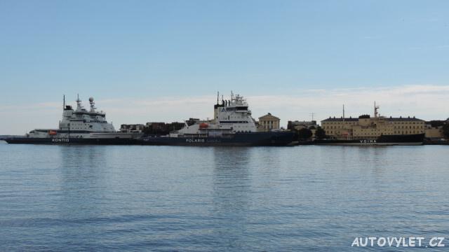 Finsko Helsinki - přístav