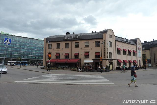 Finsko Helsinki - restaurace Vltava