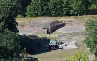 Fort Gerharda - vojenská pevnost Svinoústí Polsko