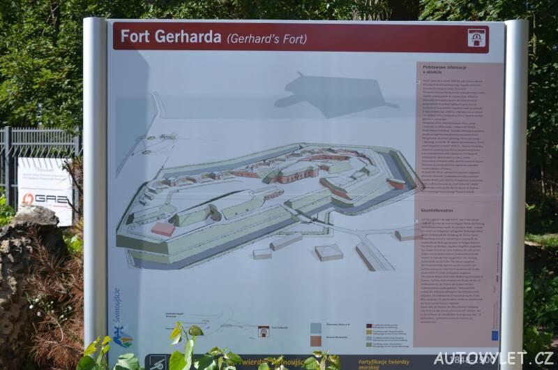 Fort Gerharda - vojenská pevnost Svinoústí Polsko 5