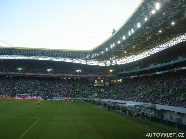 Fotbalový stadion - Lisabon Portugalsko