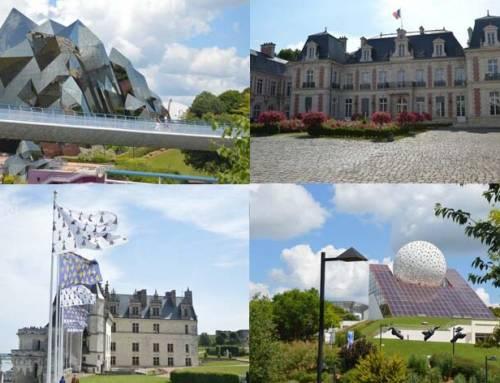 Francie – zámek Amboise, město Tours, Poitiers a Futuroscope zábavní park