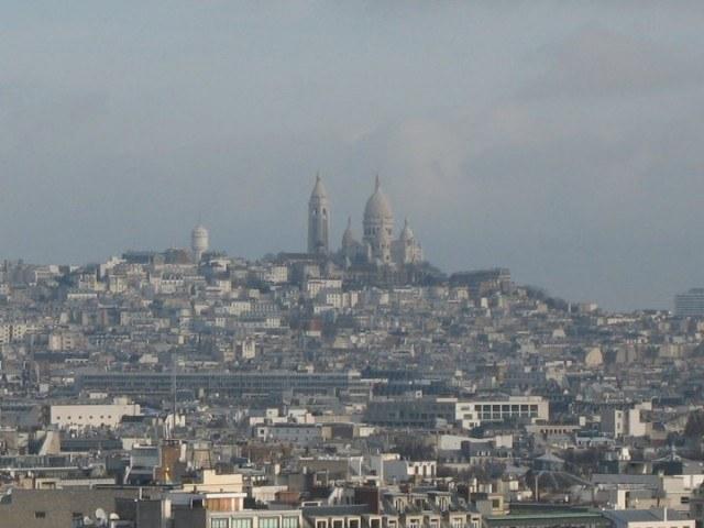 francie paříž