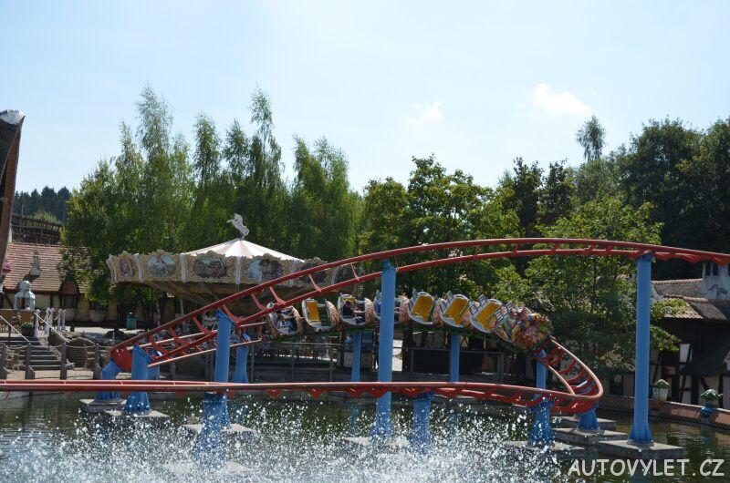 Freizeitpark Plohn - zábavní park Německo 04