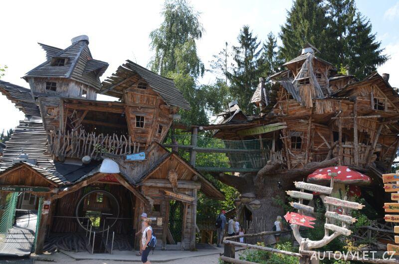 Freizeitpark Plohn - zábavní park Německo 10