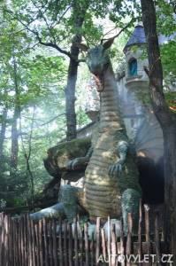 Freizeitpark Plohn - zábavní park Německo 14