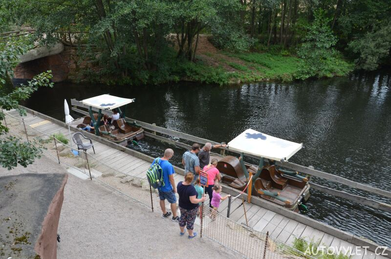 Freizeitpark Plohn - zábavní park Německo 15