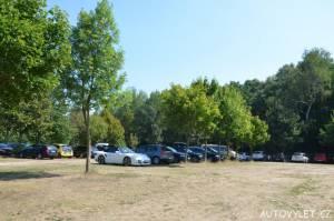 Freizeitpark Plohn - zábavní park Německo - parkování