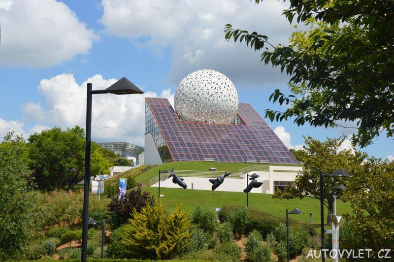 futuroscope zábavní park francie 2