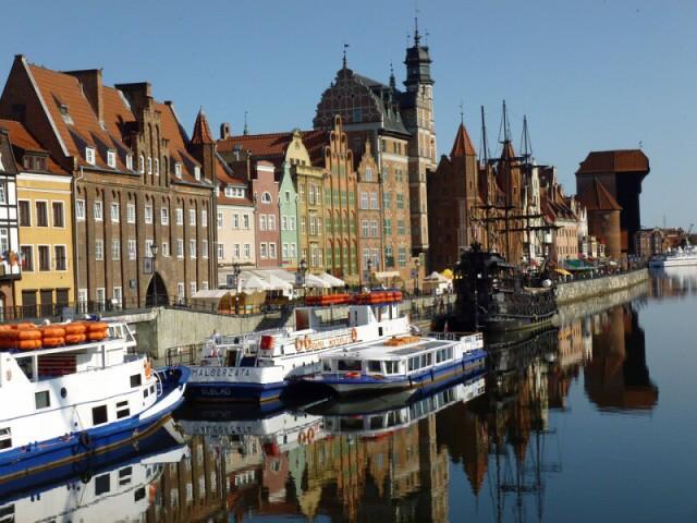 Gdaňsk město v Polsku