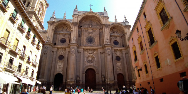 Granada architektura - Španělsko