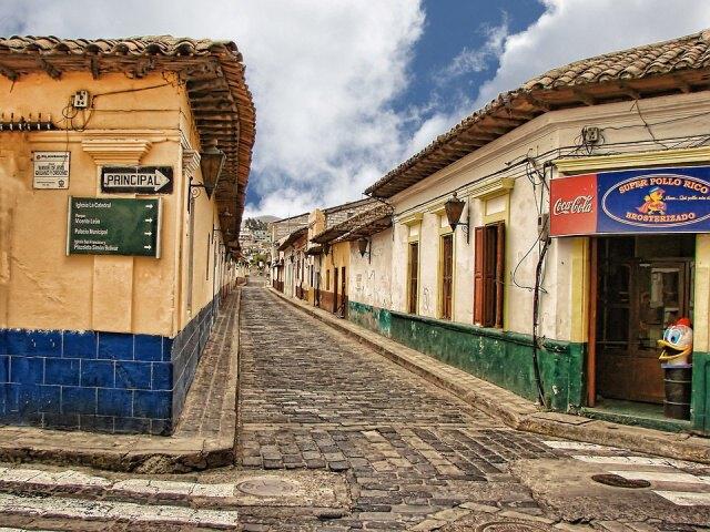 Ulice v  Guatemale