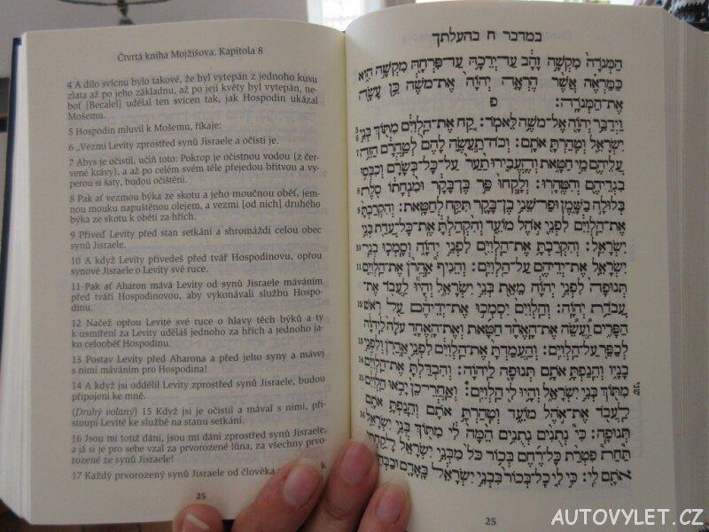 Tora hebrejsky i česky