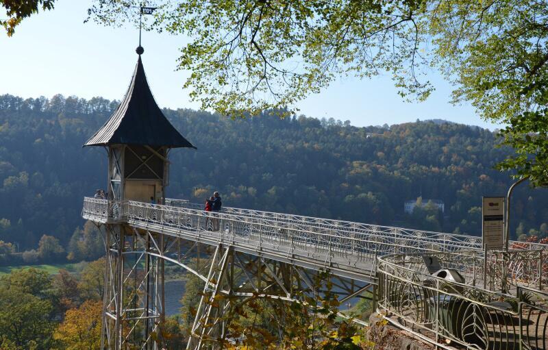 Historický výtah Bad Schandau Německo