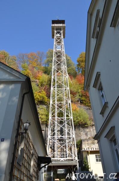 Historický výtah Bad Schandau Německo 2