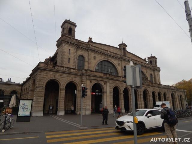 Hlavní nádraží - Curych Švýcarsko