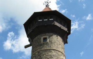 Hrad Hněvín - Most